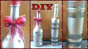 Deko Mit Flaschen : deko flaschen f r weihnachten diy julebuergerfee youtube ~ Frokenaadalensverden.com Haus und Dekorationen