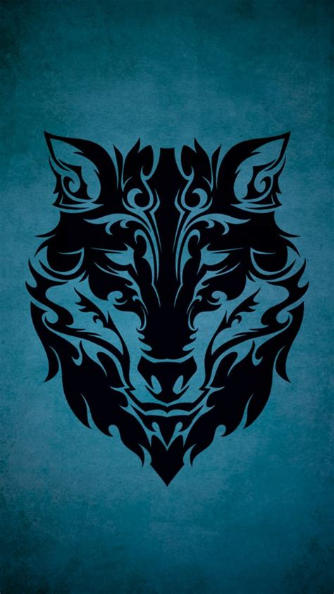 Tribal Animal Wallpaper - tribal wolf wallpapers to your cell phone