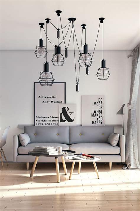 canapé design nordique 1001 idées salon nordique minimalisme et chaleur