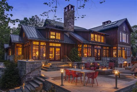 lake michigan home rustic exterior milwaukee by