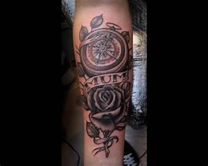 Tatouage Prenom Avant Bras Homme : tatouage roses avant bras homme kolorisse developpement ~ Melissatoandfro.com Idées de Décoration