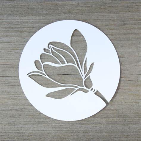 magnolienblueten plotter freebie handmade kultur