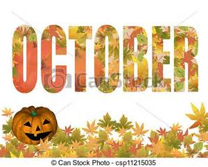 October Leaves Clip Art Free