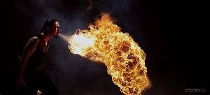 Fire Breathing In Bullet Time Looks So Completely Bad Arse ...