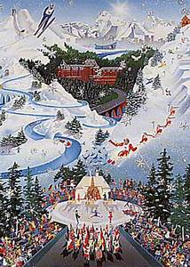 Let The Winter Games Begin 1988 Winter Olympics AP By