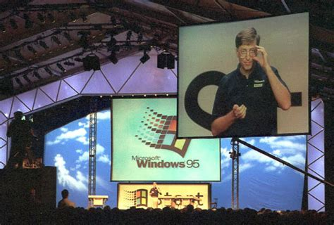 The hysteria over Windows 95 launch, 20 years ago