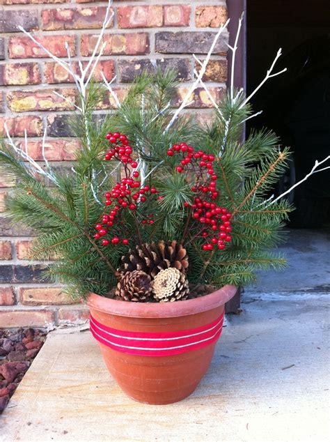 Dekoideen Weihnachten Draussen by Outdoor Decor Craft Ideas