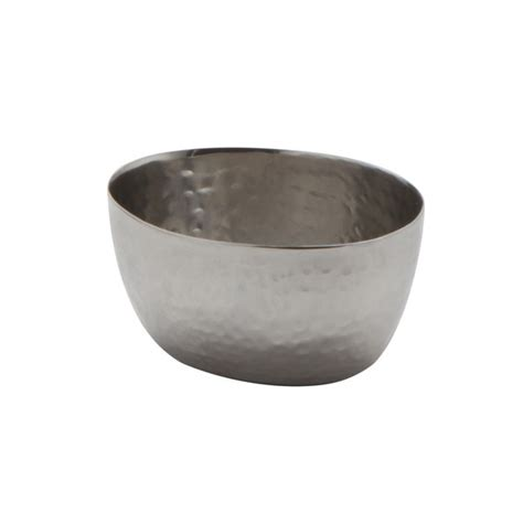 american metalcraft hs2 2 oz oval hammered stainless