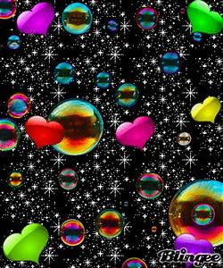 colorful bubbles Picture #90778182 | Blingee.com