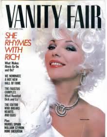 legendary dame on the cover vanity fair december 1984