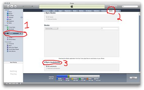 itunes audiobooks iphone sync how can i get an audio book from itunes onto an
