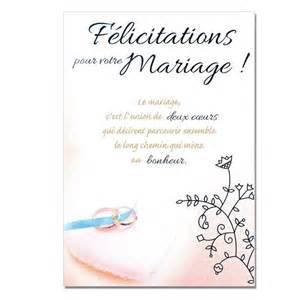 carte pour mariage cartes mots du bonheur mariage félicitations une carte pour toi