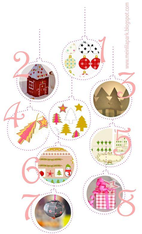 free printable christmas decorations ausdruckbare