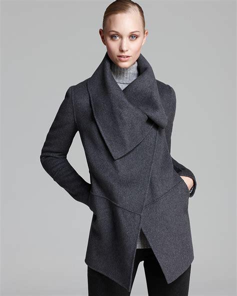 Draped Sweater Coat - mackage coat marila draped sweater bloomingdale s