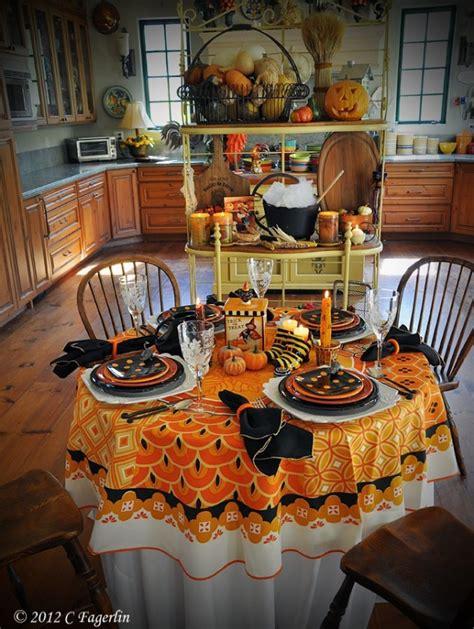 ideas  halloween table decoration