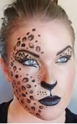 Leopard half mask Hall...