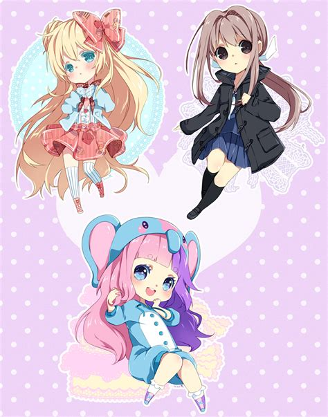 Chibi Commission Batch 26 By Inma On Deviantart