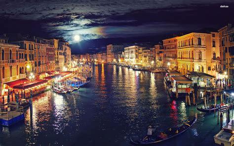 Venice At Night 787622 Walldevil