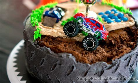 Monster Truck Birthday Party   Simple Practical Beautiful