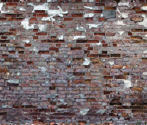 exposed brickwork wallpaper exposed brick adornments tom haga attic wallpaper