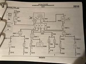 Schaltplan Fiat Ducato 244