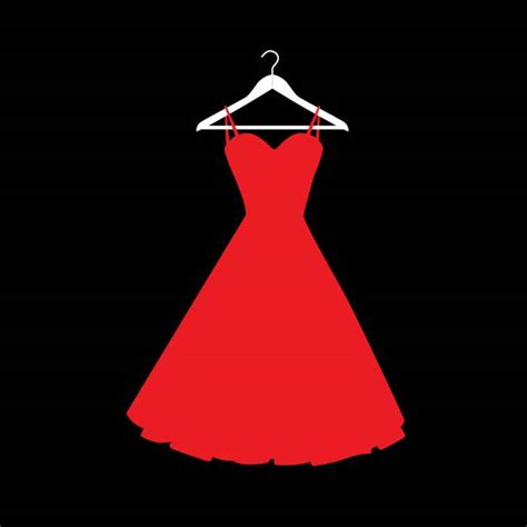 Dress Clip Royalty Free Prom Dress Clip Vector Images