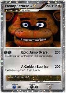 Card Freddy Pokemon Fazbear