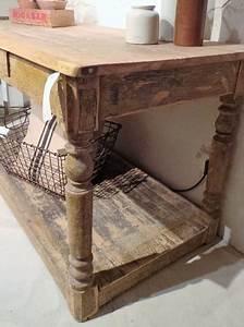 Meuble De Drapier : table de drapier ancienne ~ Teatrodelosmanantiales.com Idées de Décoration