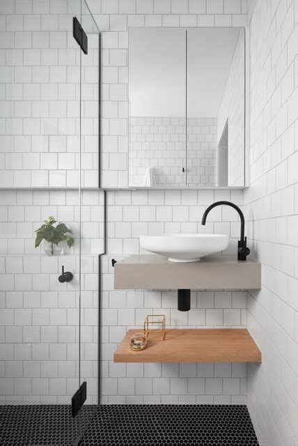 yarraville home   maximise space   small ensuite