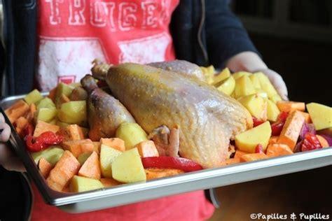 comment cuisiner des cuisses de pintade pintade au four et pommes de terre rôties