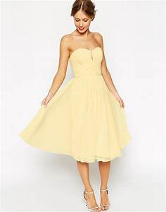 asos asos wedding ruched bodice bandeau midi dress at asos With midi wedding dress