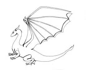 Realistic Dragon Coloring Pages Printable