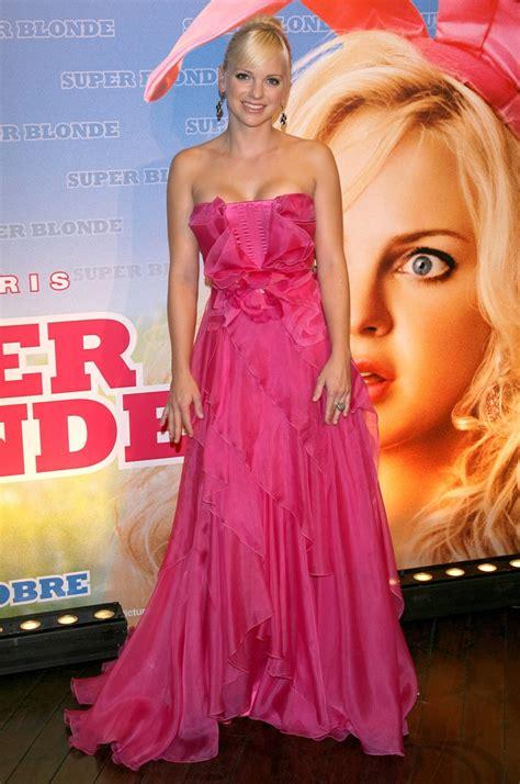 evening pink dress anna faris  dresses evening
