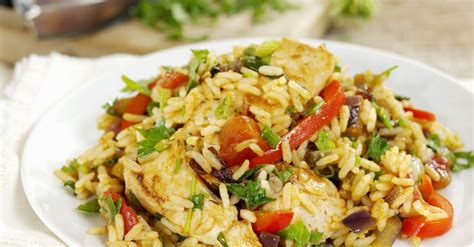 southern chicken  rice dish recipe eat smarter usa
