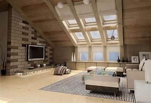 Neue Wohnung Einrichten : dachwohnung einrichten 30 ideen zum inspirieren ~ Watch28wear.com Haus und Dekorationen