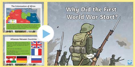 Why Did the First World War Start? - Start of WW1 KS2