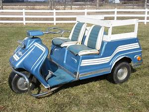 1969 Harley Davidson 3 Wheel Electric Golf Car    Cart For Sale