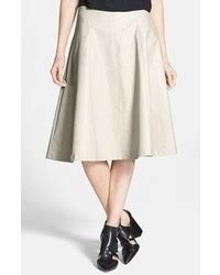 s white ruffle shoulder top grey pleated midi skirt s fashion