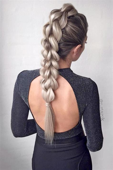 24 Easy Long Hairstyles For Valentine's Day Easy