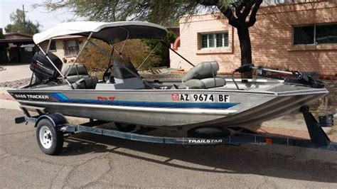 Bass Boats For Sale In Yuma Az by 1995 Bass Tracker Pro 17 4950 Tucson Boats For Sale