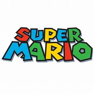 super mario font With super mario letters