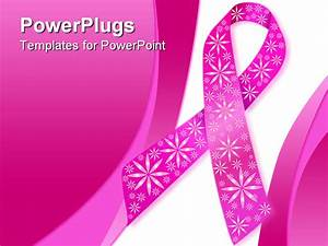 breast cancer powerpoint background powerpoint With breast cancer ppt template