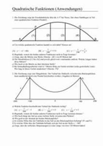 Quadratische Funktionen Nullstellen Berechnen Aufgaben Mit Lösungen : 4teachers lehrproben unterrichtsentw rfe und unterrichtsmaterial f r lehrer und referendare ~ Themetempest.com Abrechnung