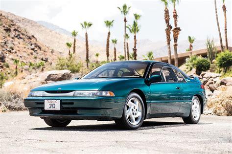 subaru svx collectible classic automobile magazine