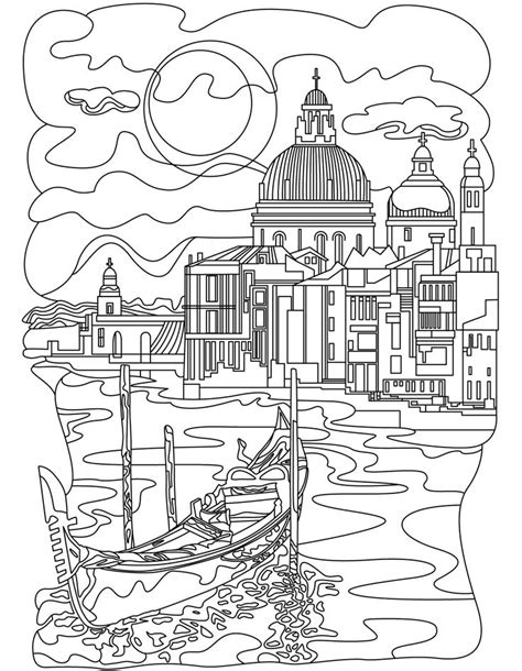 images  architecture coloring pages