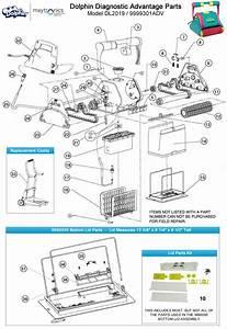 Dolphin Diagnostic Advantage Robotic Pool Cleaner Parts
