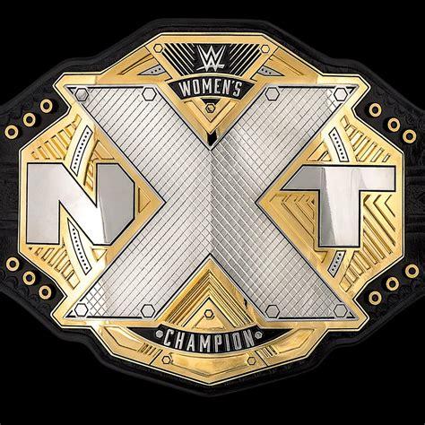 WWE NXT Women's Championship Belt