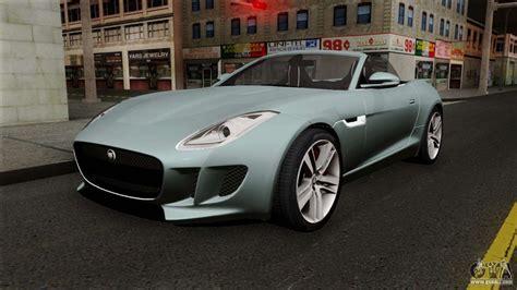 Jaguar For by Jaguar F Type For Gta San Andreas