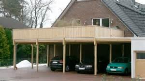 carport balkon carport mit balkon kosten carprola for