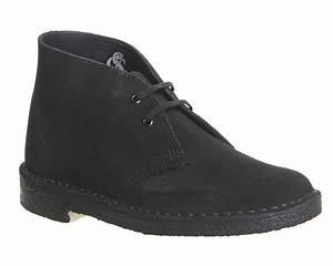 Clarks Originals Desert Boot : womens clarks originals desert boots black suede boots ebay ~ Melissatoandfro.com Idées de Décoration